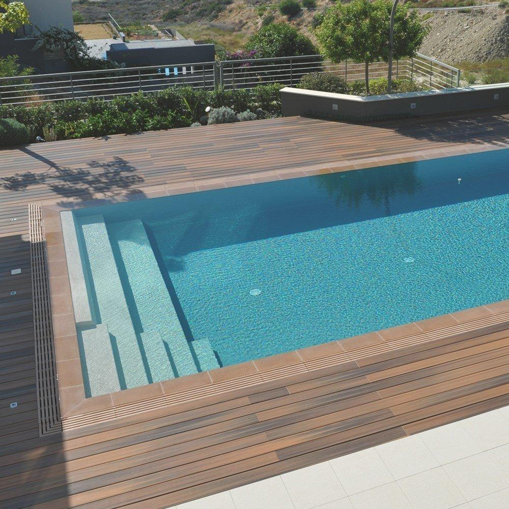 Terrasse en Bois posite Lame Fiberon Horizon DeckLinea