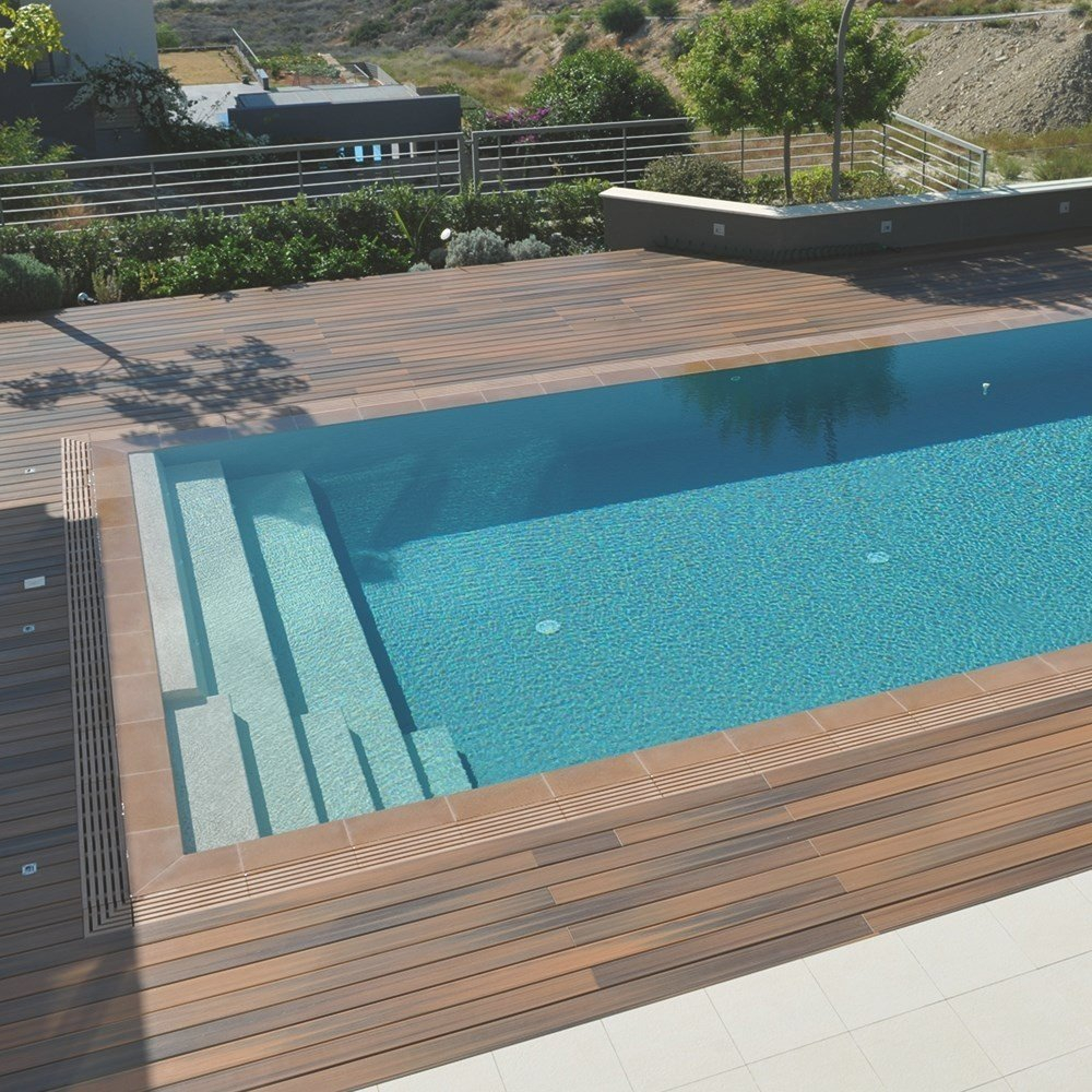 Terrasse Composite Piscine Terrasse En Bois Posite Lame Fiberon Horizon Decklinea