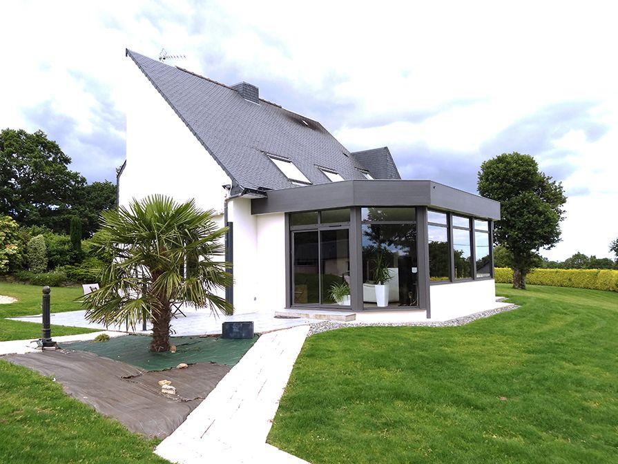 extension toit plat bandeau alu Projets à essayer