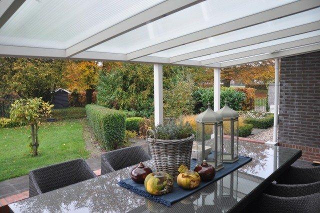 Terrasse Couverte Transparente toiture Transparente Pour Terrasse Avec Cadre En Aluminium