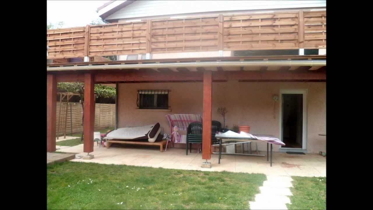 construction terrasse surelevée avec pose d une terrasse