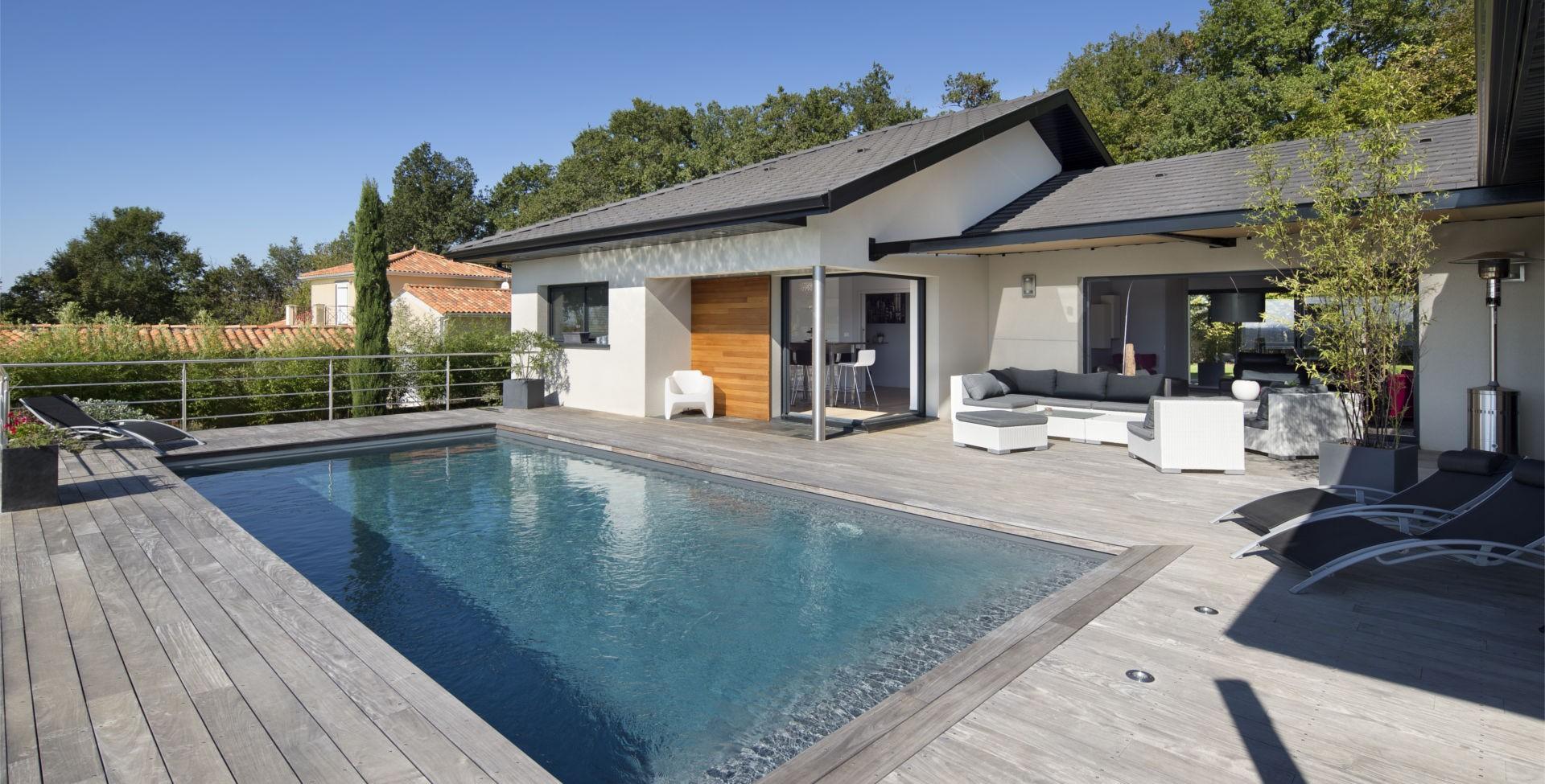 Maison neuve avec terrasse ECC Ets Da Costa