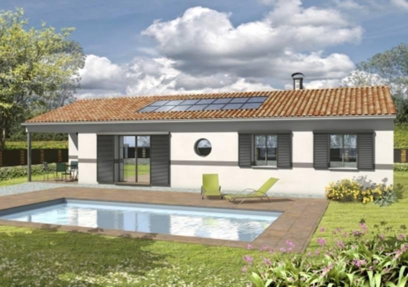 Maison personnalisable avec terrasse couverte Adagio