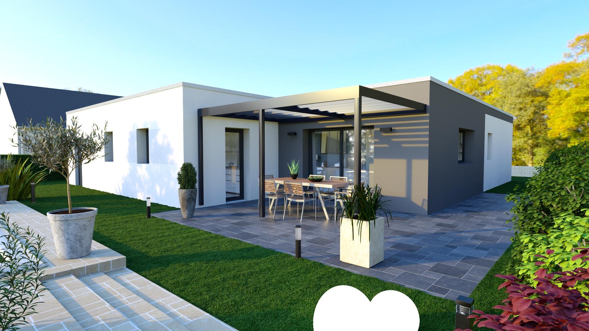 Maison Plain Pied Toit Plat – Ventana Blog