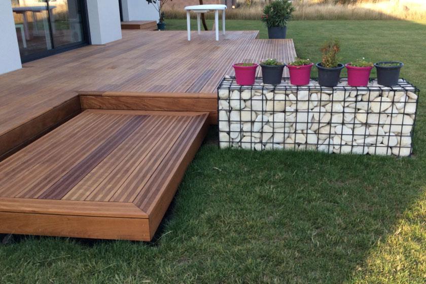 Terrasse En Bois Exotique Concept