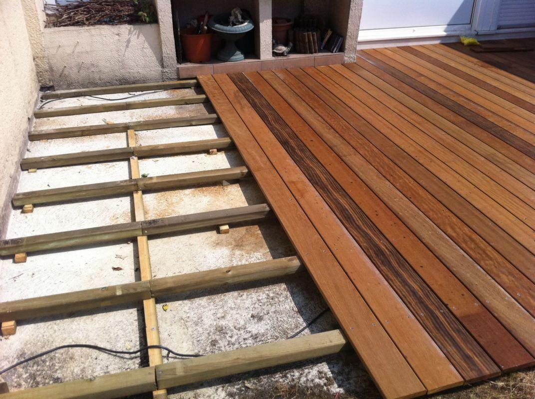 Poser une terrasse en bois exotique veranda styledevie