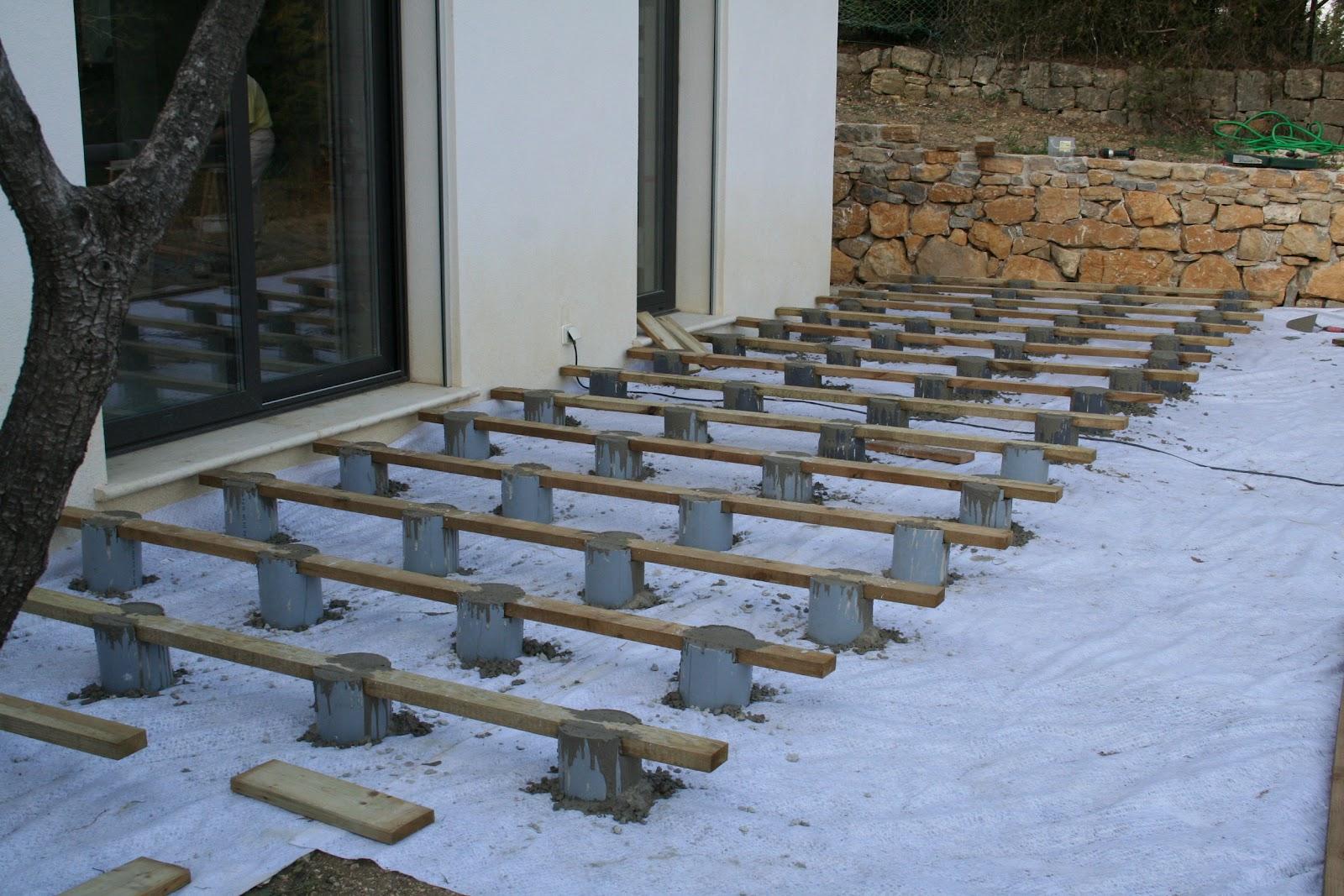 Blanche & Bricole Construire sa terrasse en lames de bois