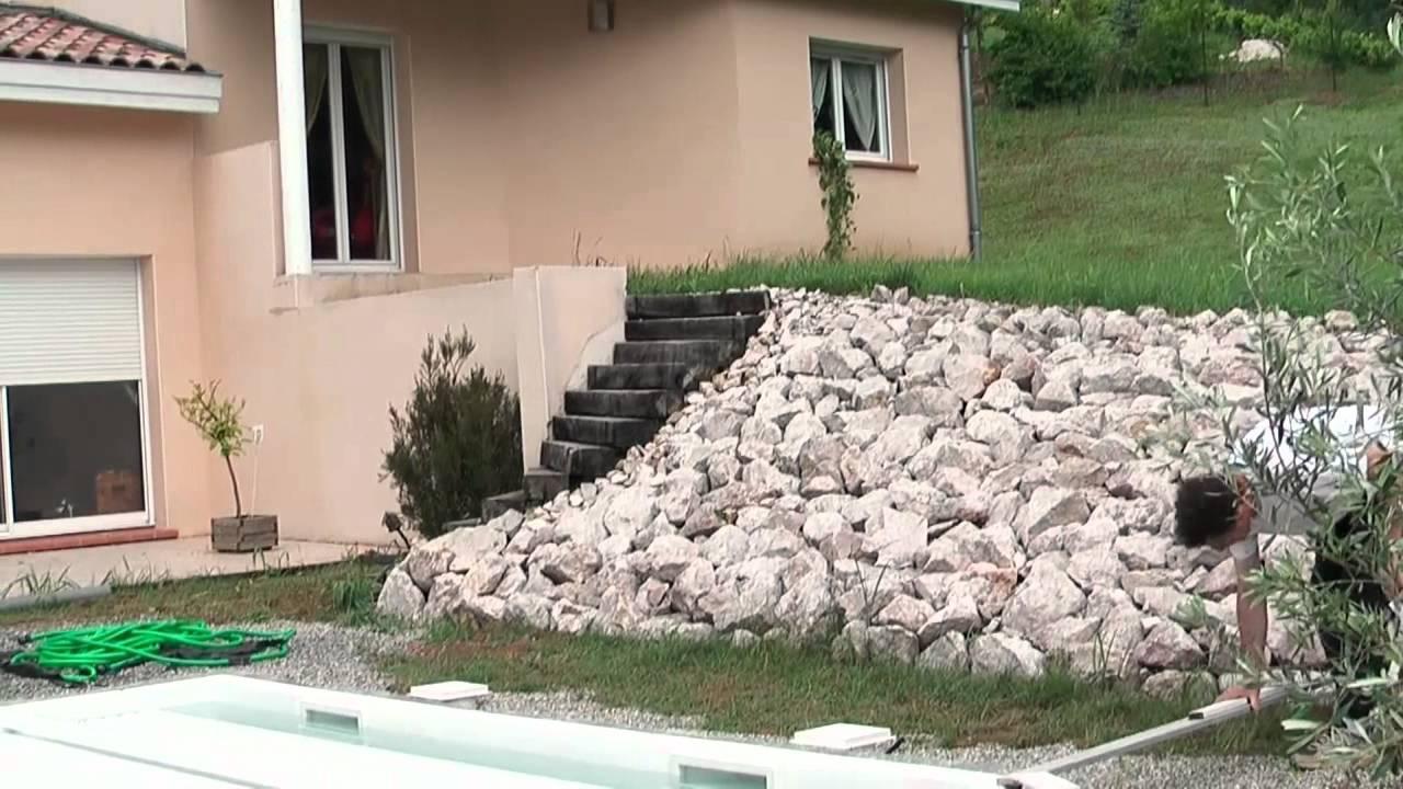 Vidéo 3 terrasse en bois sur plots PVC