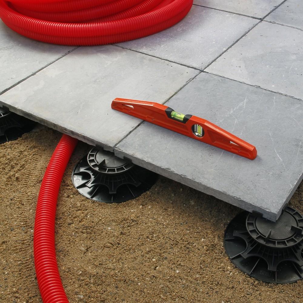 Plot pour dalle NIVO H40 60mm Plot pour dalles Deck Linea