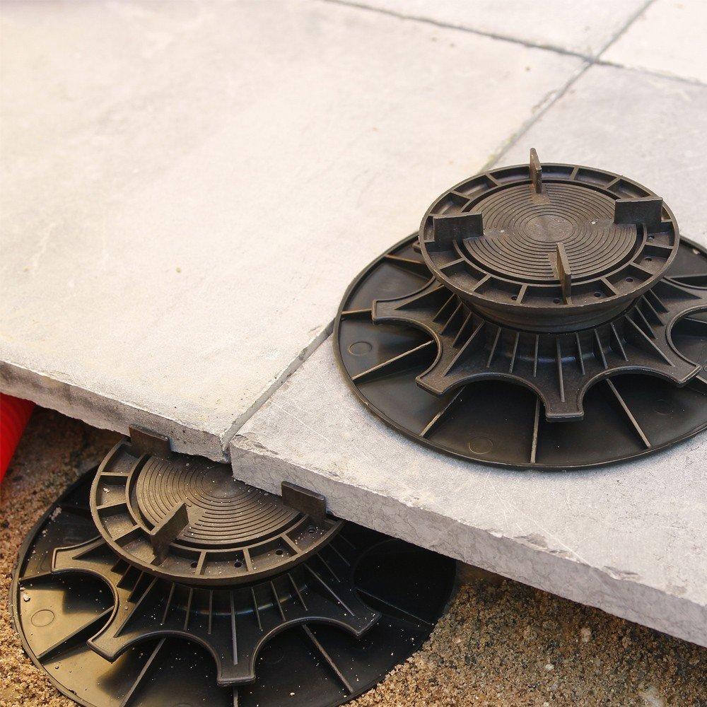 Plot pour dalle NIVO H80 140mm Plot pour dalles Deck Linea