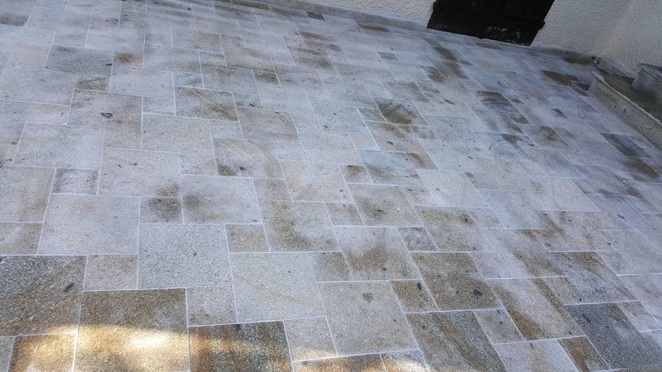 Terrasse En Granit Terrasse En Granit Joint Fait 2