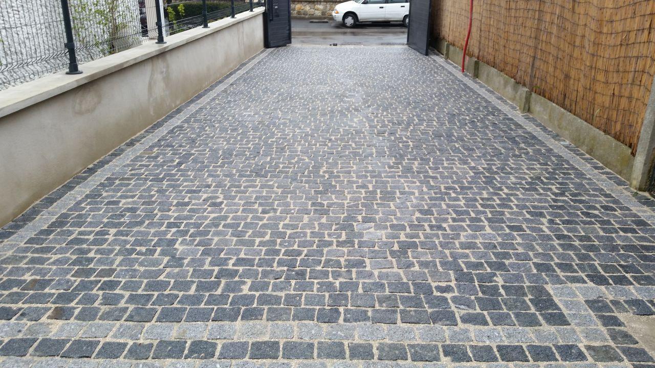 Terrasse Pave Granit