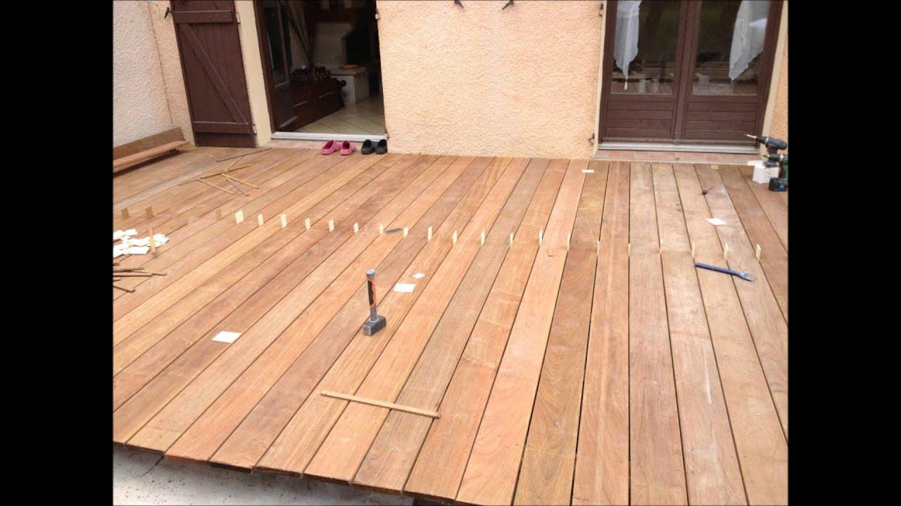 construction terrasse bois ipé