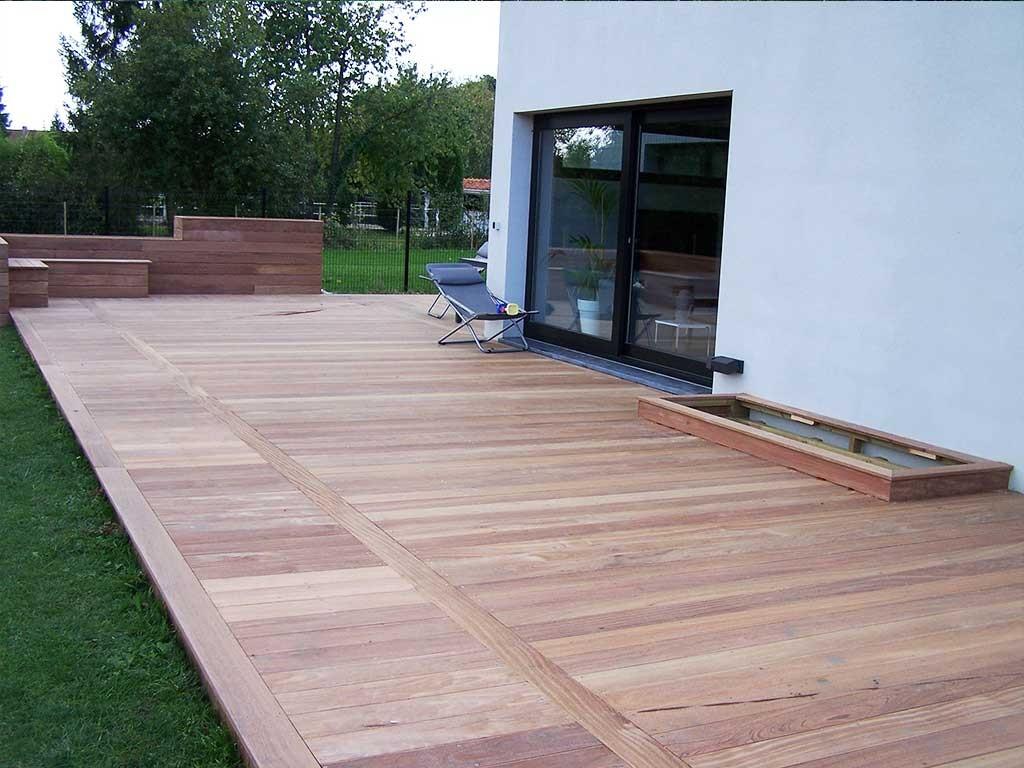 Création terrasse bois à Lille en Ipé 59 Wood