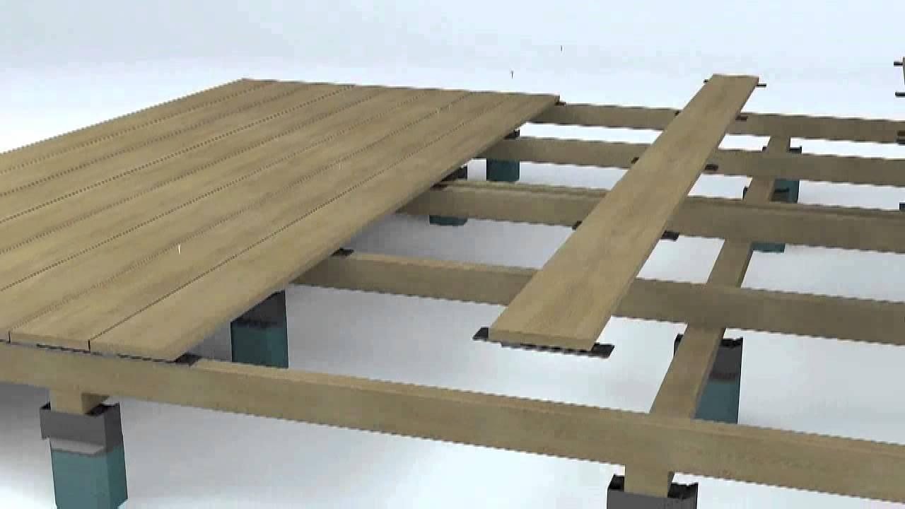fixation invisible happax pour terrasse bois cumaru ipe