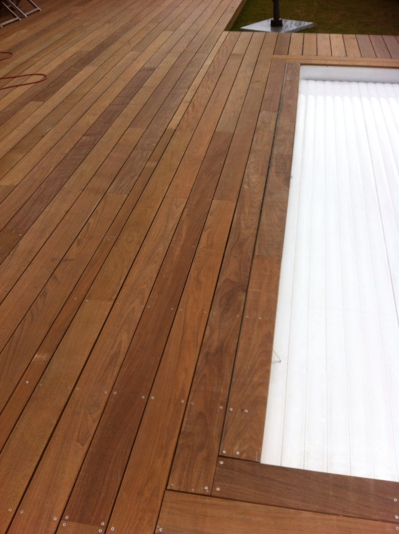 Lame ipé pour terrasse extérieur en bois exotique la