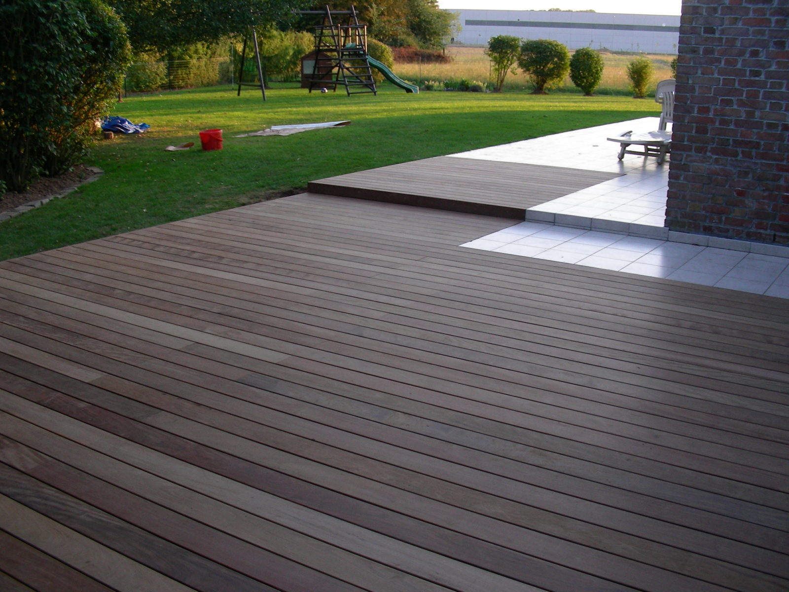 Terrasse en bois exotique IPE Destombes Bois