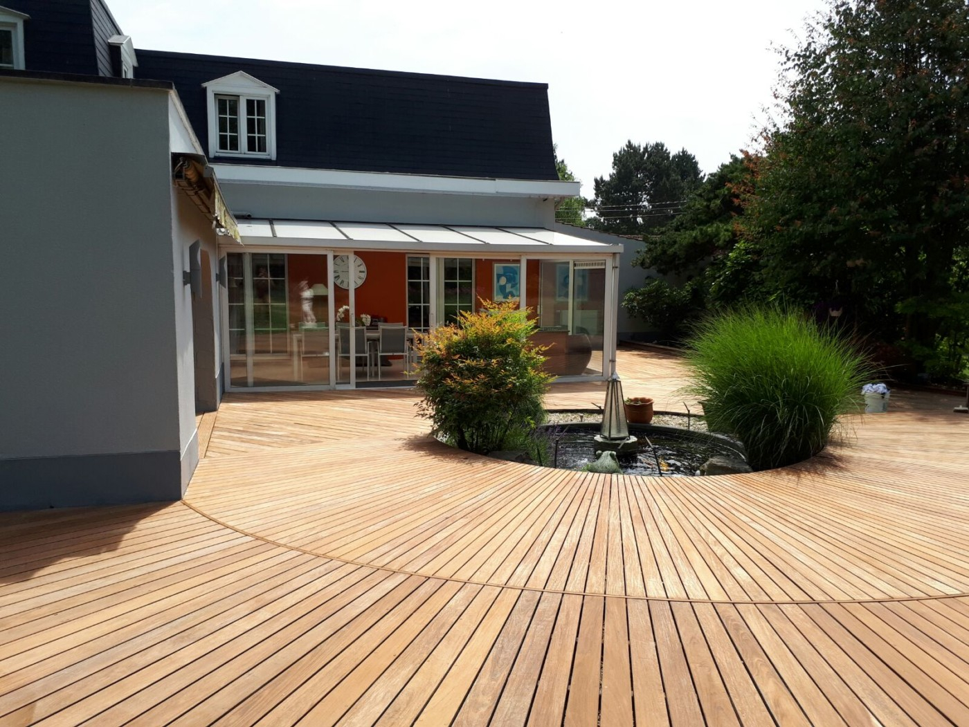 terrasse en bois ipé sur mesure bois wavre waterloo mt