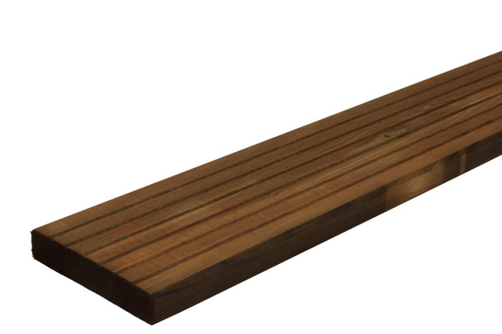 """Lames de terrasse en bois autoclave marron """"classic"""
