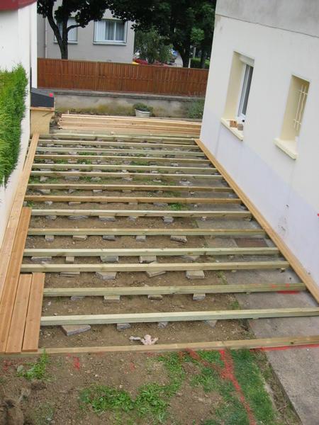 Terrasse en pin douglas