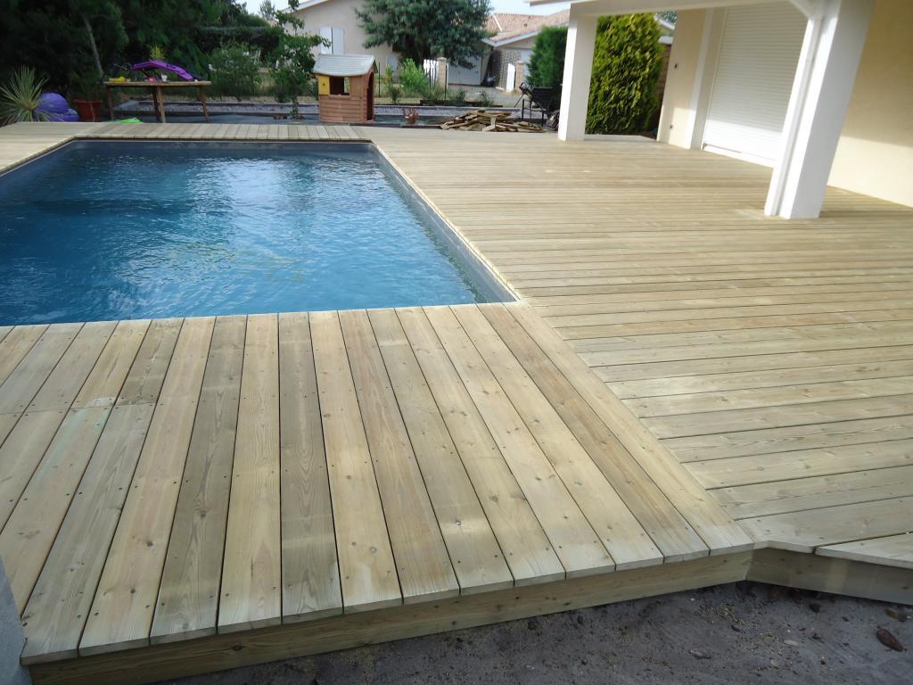 terrasse piscine pin