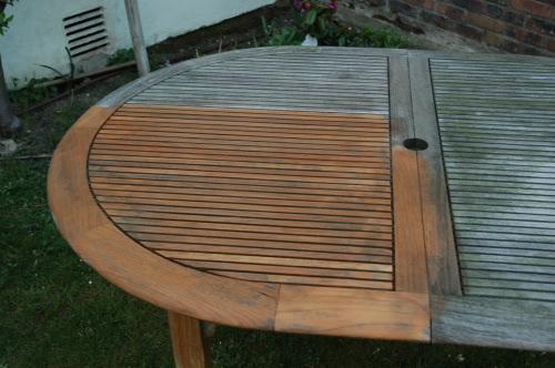 Entretien des meubles en Teck et terrasse en bois exotique