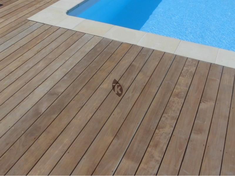 Lames de terrasse en bois exotique Teck Tekabois