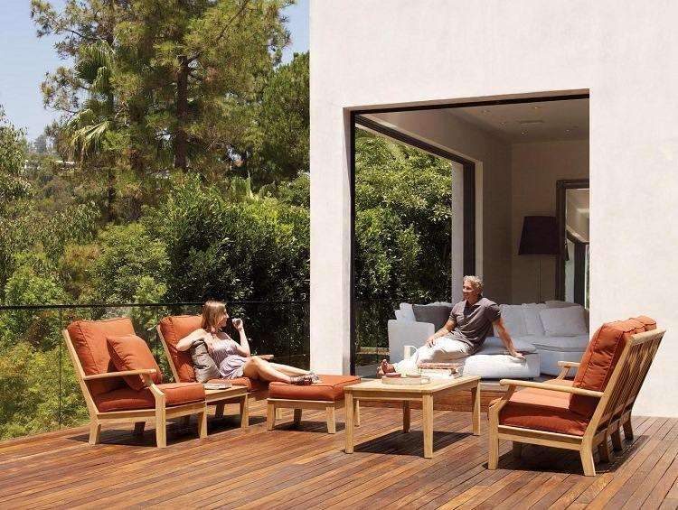 Salon de jardin en teck – de l'élégance et du luxe en