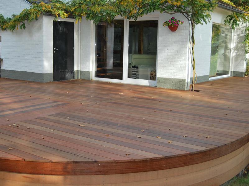 Terrasse en bambou Ecobati
