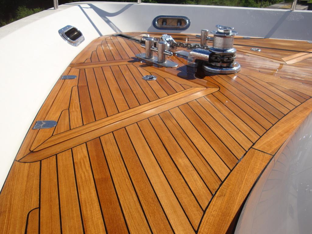 Terrasse pont de bateau en Teck Terrasse bois