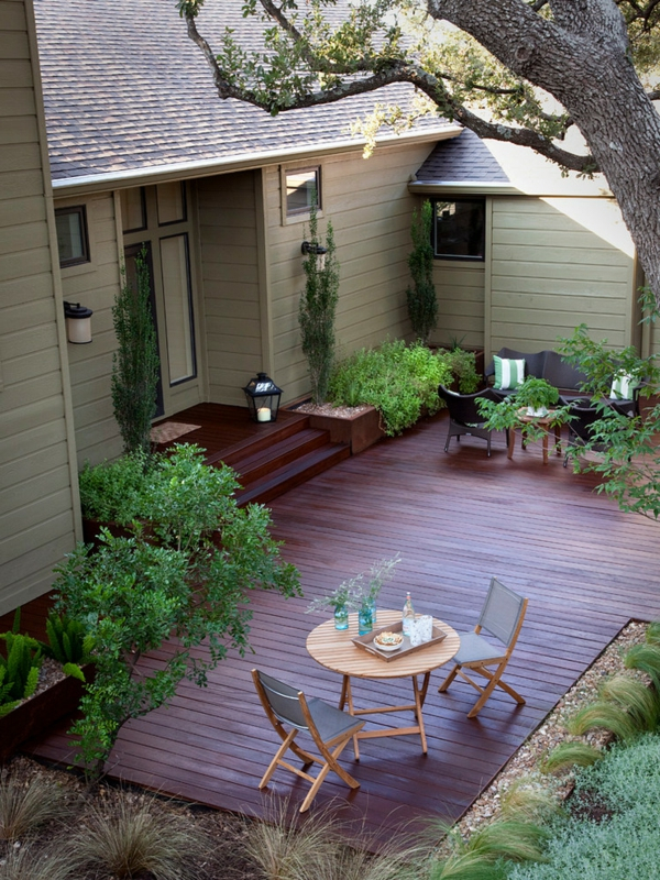 Terrasse Exterieur Composite Terrasse En Bois Ou Posite Idées Merveilleuses Pour L