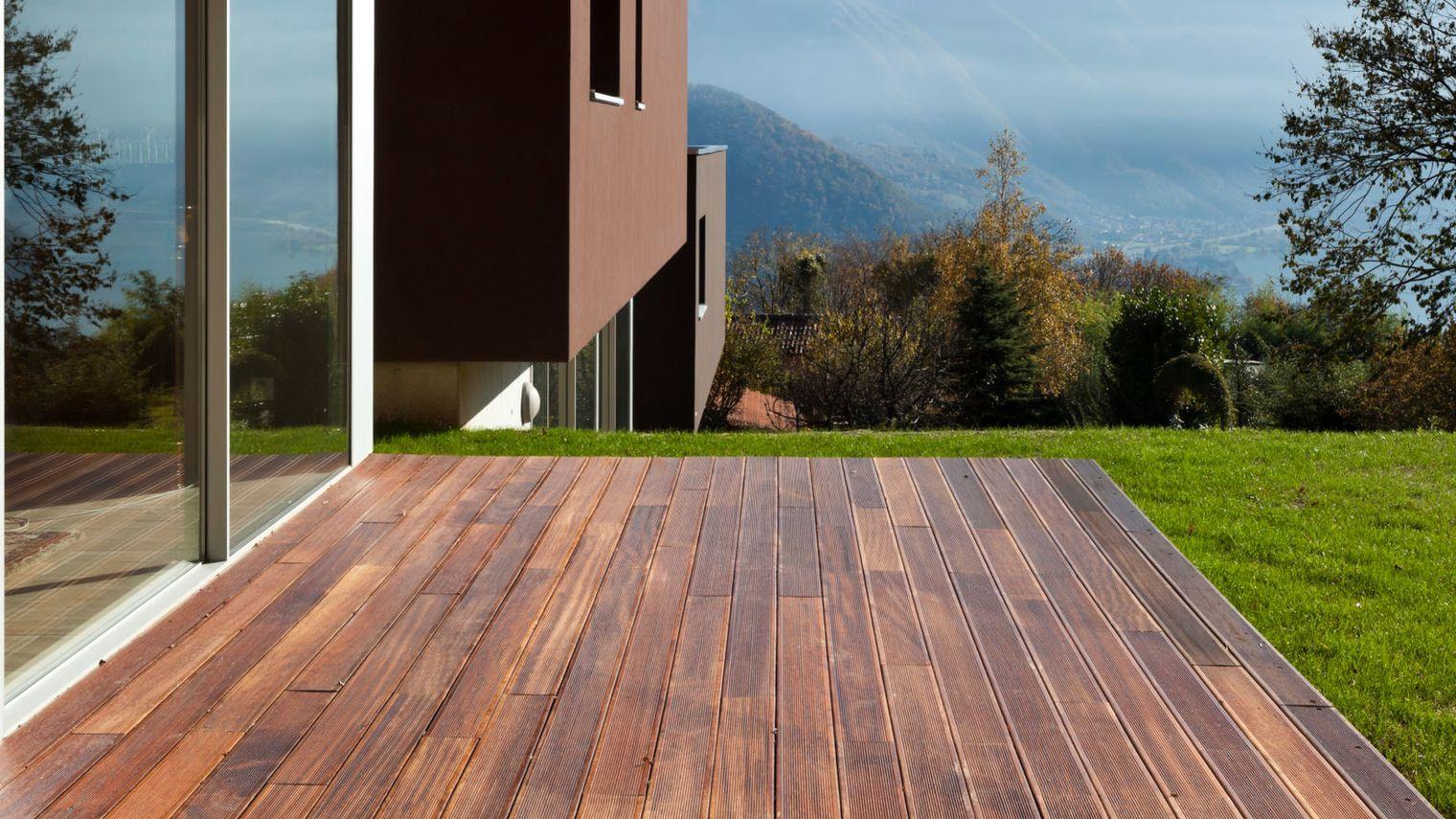 Terrasse Imitation Bois Conception