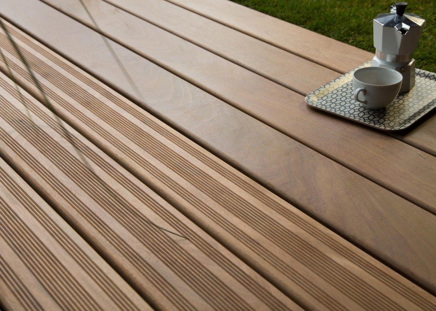 Lame de terrasse en bois exotique Ipé Une référence