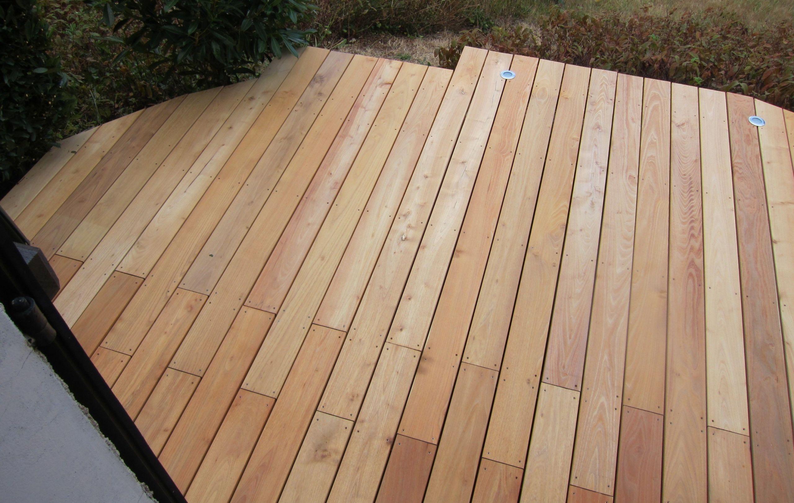 Lames de terrasse en Robinier faux Acacia Selection Bois