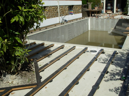 Terrasse Piscine Beton Concept