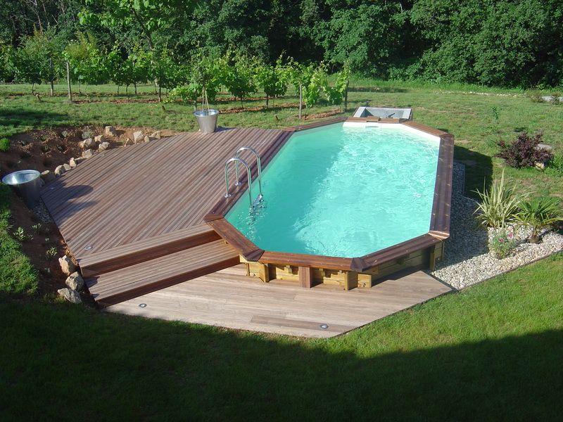 Piscine bois octogonale acheter une piscine avec