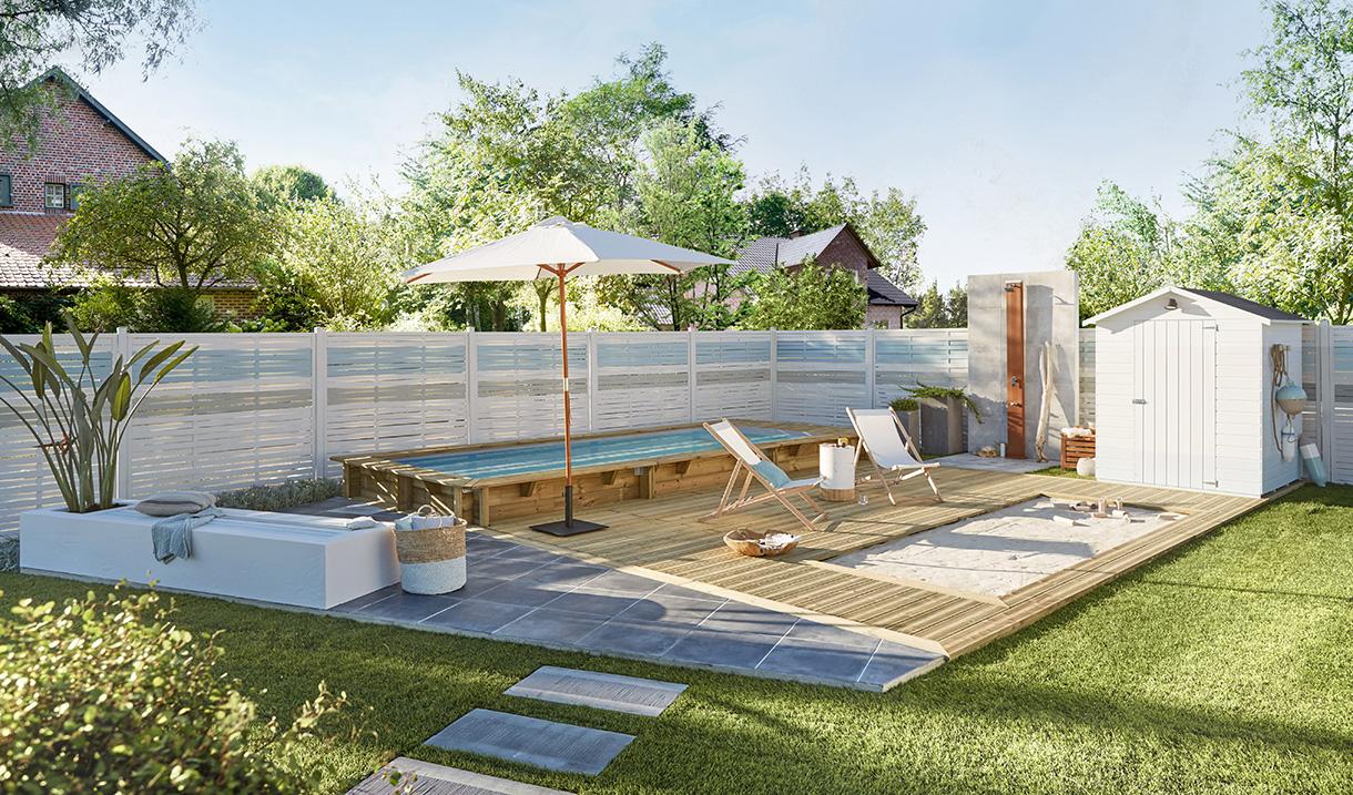 Plage de piscine quel revêtement pour votre terrasse de
