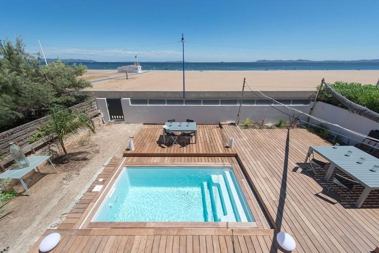 Terrasse mobile pour piscine prix et infos pour bien