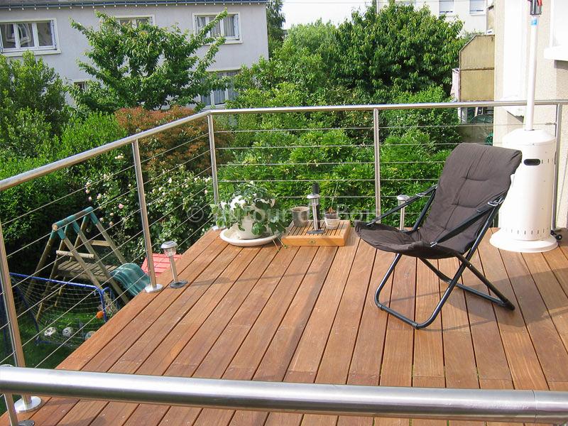 Terrasse bois sur pilotis Terrasse suspendue