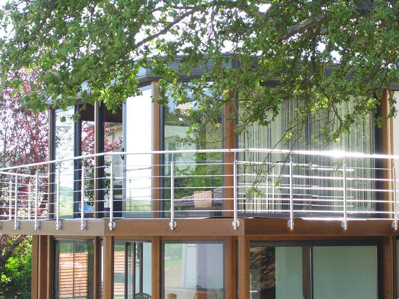 Terrasse suspendue infos conseils prix Ooreka