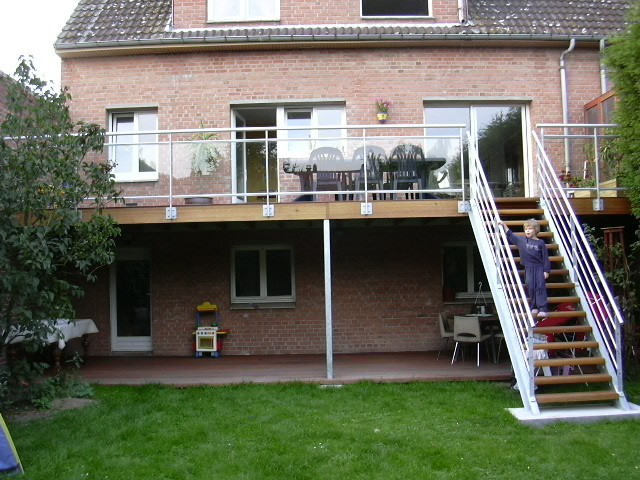 Terrasse suspendue Lille menuiserie Exterieur Nord