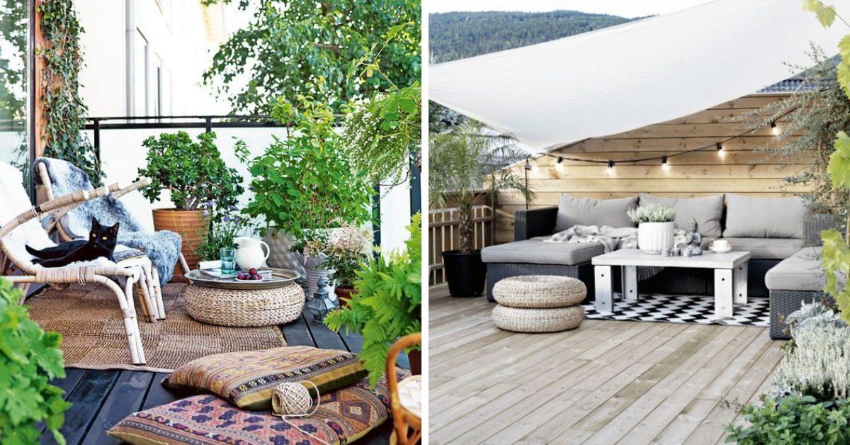 Terrasses Et Jardins Deco & Aménagement Terrasse 24 Idées Géniales à Copier