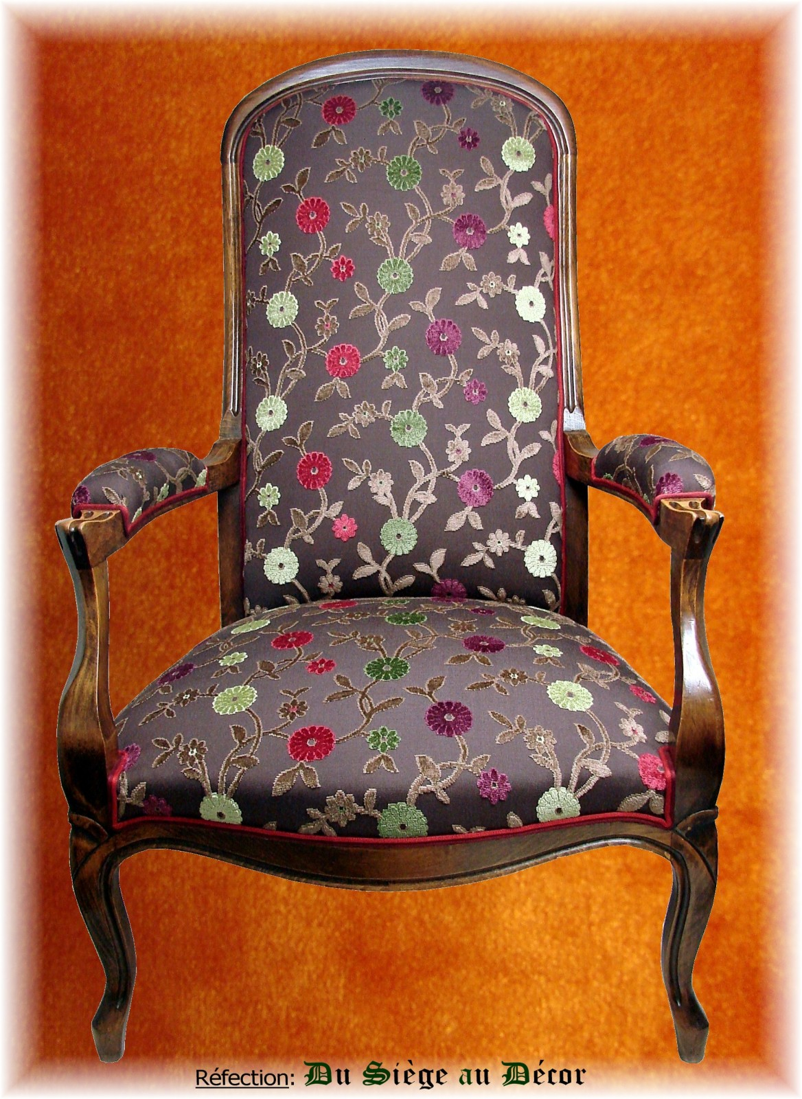 Tissus d'ameublement pour fauteuil voltaire – Table de lit