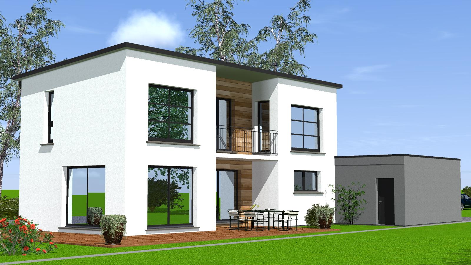 Construction maison toit plat Maisons BEGIMaisons BEGI