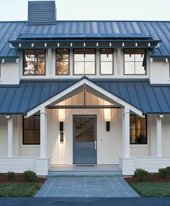 Maison Avec Lucarne Moderne