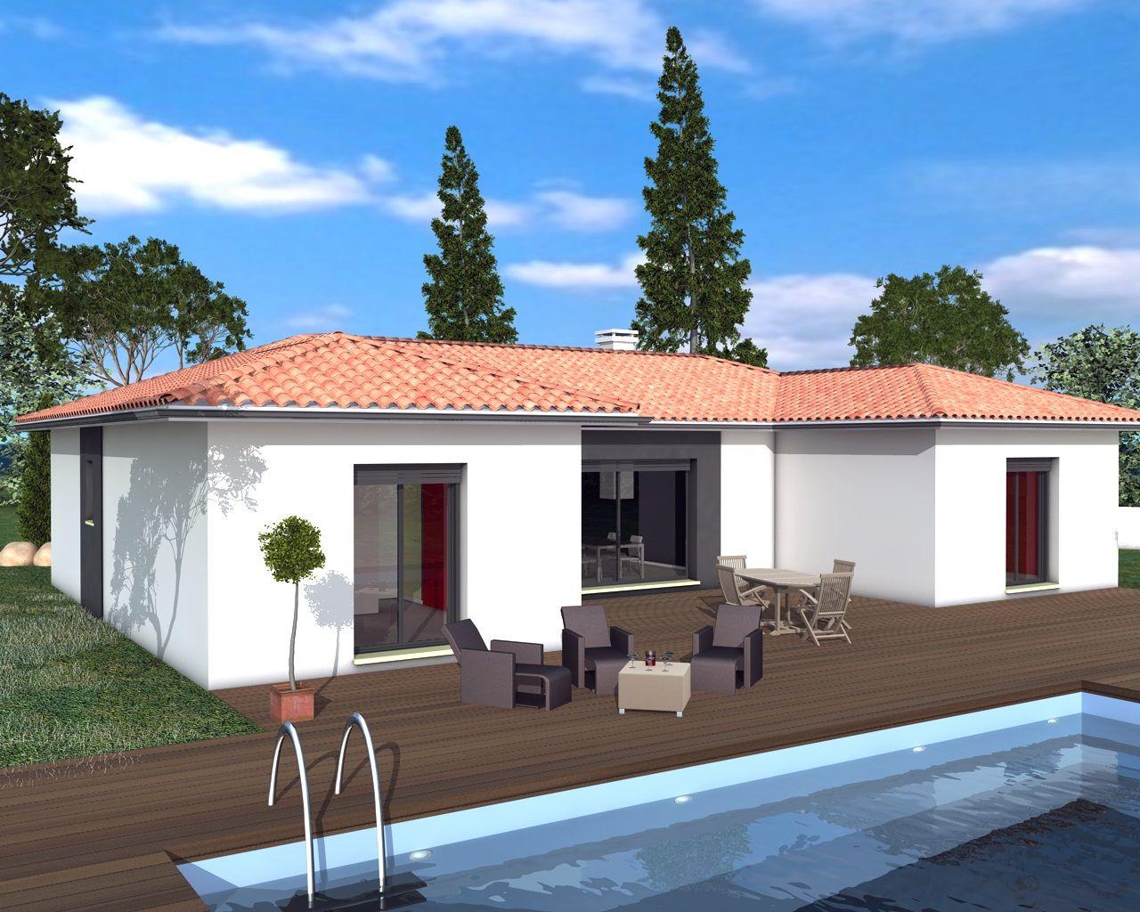 Modèles et plans de maisons Modèle de plain pied