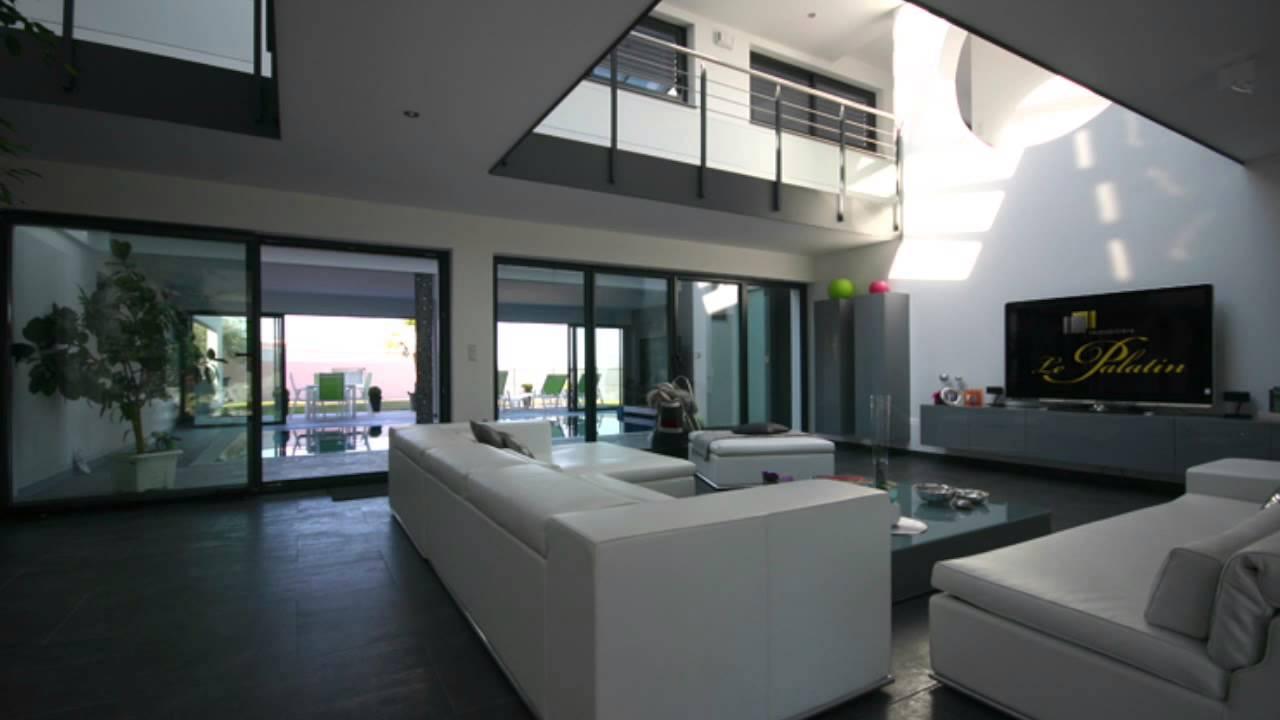 Villa Design toit plat Immobilière le Palatin
