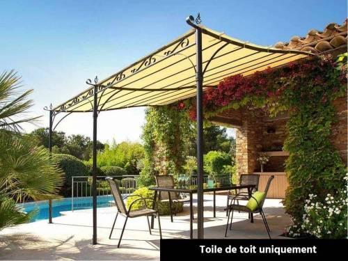 Toile de toit pour la pergola Hossegor Hespéride 3 x 4 m