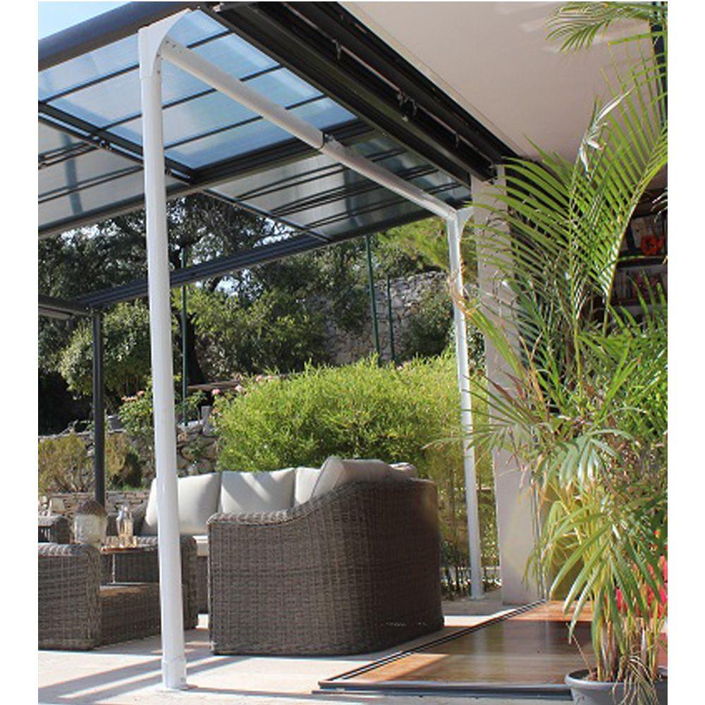 Toit De tonnelle tonnelle Autoportante Aluminium toit Polycarbonate 4x3 5