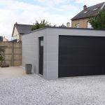 Toit En Beton Garages Préfabriqués En Béton Et Béton aspect Bois Sur Mesure